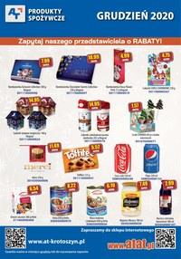 Gazetka promocyjna At - Promocje na artykuły spożywcze w AT - ważna do 31-12-2020