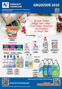 Gazetka promocyjna At - Promocje w At - środki czystości - ważna do 31-12-2020
