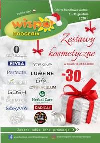 Gazetka promocyjna Drogeria Wispol - Wispol - zestawy kosmetyczne - ważna do 31-12-2020