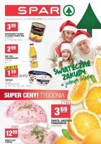 Gazetka promocyjna SPAR - Świątecznie i tanio w Spar! - ważna do 08-12-2020