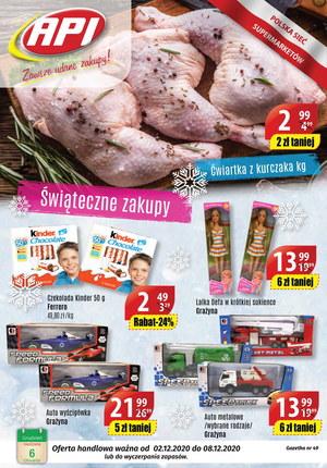 Gazetka promocyjna Api Market - Zakupy świąteczne w Api Market