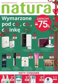 Gazetka promocyjna Drogerie Natura - Wymarzone pod choinkę - Natura - ważna do 16-12-2020