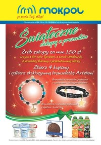 Gazetka promocyjna Mokpol - Świąteczne zakupy w Mokpol - ważna do 15-12-2020