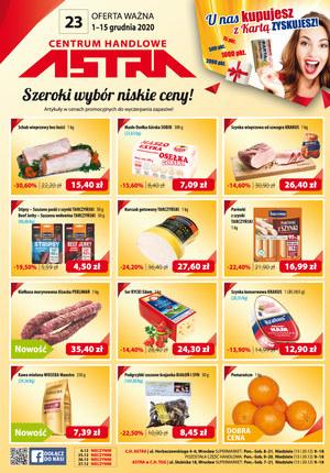 Gazetka promocyjna Astra - Szeroki wybór i niskie ceny w Astra!