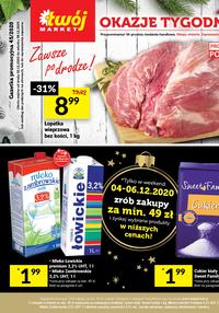 Gazetka promocyjna Twój Market - Oferta handlowa Twój Market - ważna do 08-12-2020