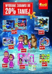 Gazetka promocyjna Twój Market - Zabawki -20 % w Twój Market - ważna do 08-12-2020