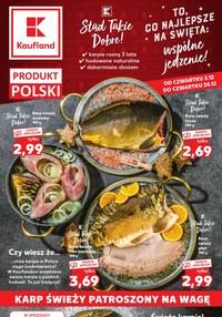 Gazetka promocyjna Kaufland - Najlepsze święta z Kaufland
