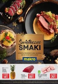 Gazetka promocyjna Makro Cash&Carry - Świąteczne smaki w Makro!