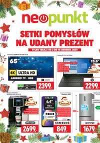 Gazetka promocyjna NEOPUNKT - Setki pomysłów na udany prezent! - ważna do 15-12-2020