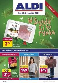 Gazetka promocyjna Aldi - Promocje grudniowe w Aldi - ważna do 13-12-2020