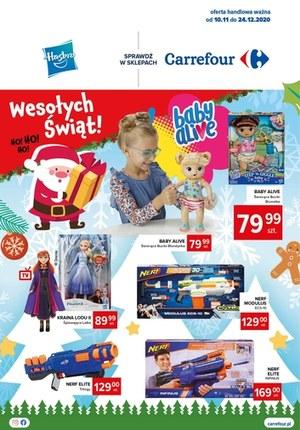 Gazetka promocyjna Carrefour - Wesołych świąt życzy Carrefour