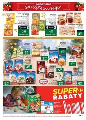 Wszystkiego świątecznego życzy Carrefour