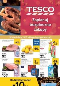 Gazetka promocyjna Tesco Centra Handlowe - Świąteczna oferty w Tesco! - ważna do 16-12-2020
