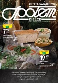 Gazetka promocyjna Społem Kielce - Oferta świąteczna Społem Kielce - ważna do 31-12-2020