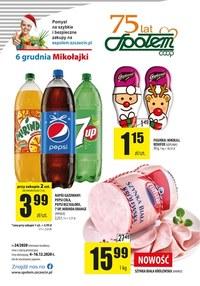 Gazetka promocyjna PSS Społem Szczecin - Oferta handlowa Społem Szczecin - ważna do 16-12-2020