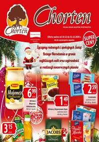 Gazetka promocyjna Chorten - Chorten życzy Wesołych Świąt! - ważna do 31-12-2020