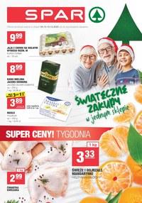 Gazetka promocyjna SPAR - Świąteczne zakupy w SPAR - ważna do 15-12-2020