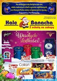 Gazetka promocyjna Hala Banacha - Hale Banacha - z ochotą na zakupy - ważna do 08-01-2021
