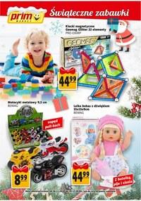 Gazetka promocyjna Prim Market - Zabawki świąteczne w Prim Market! - ważna do 24-12-2020