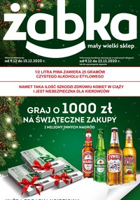 Gazetka promocyjna Żabka - Żabka w świątecznej odsłonie - ważna do 22-12-2020
