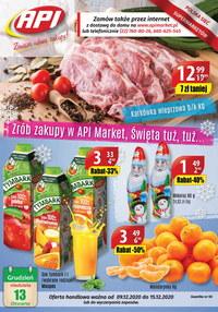 Gazetka promocyjna Api Market - Nowa gazetka Api Market - ważna do 02-12-2020