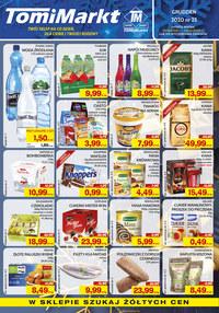 Gazetka promocyjna TomiMarkt - Promocje w sklepach TomiMarkt - ważna do 24-12-2020