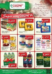 Gazetka promocyjna Delikatesy CEZAR - Super ceny Delikatesy Cezar - ważna do 24-12-2020