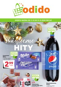 Gazetka promocyjna Odido - Świąteczne hity w Odido - ważna do 31-12-2020