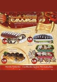 Gazetka promocyjna PSS Andrychów - Promocje na grudzień PSS Andrychów - ważna do 06-01-2021