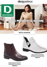 Gazetka promocyjna Deichmann - Nowe propozycje na zimę od Deichmann - ważna do 24-12-2020