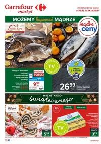 Gazetka promocyjna Carrefour Market - Oferta handlowa Carrefour Market - ważna do 24-12-2020