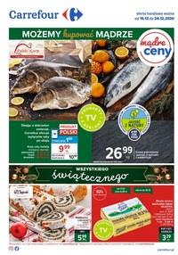 Gazetka promocyjna Carrefour - Kupuj mądrze na święta z Carrefour - ważna do 24-12-2020
