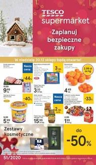Świąteczne zakupy w Tesco Supermarket