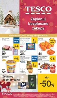 Świąteczne zakupy w Tesco