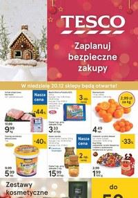 Gazetka promocyjna Tesco Centra Handlowe - Świąteczne zakupy w Tesco - ważna do 24-12-2020