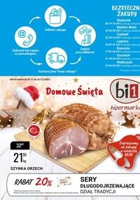 Gazetka promocyjna bi1 - Promocje w sklepach Bi1 - ważna do 24-12-2020