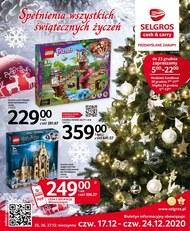 Świąteczne życzenia składa Selgros