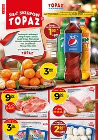 Gazetka promocyjna Topaz - Najnowsza oferta i sztos ceny w Topaz - ważna do 24-12-2020