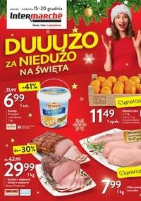Gazetka promocyjna Intermarche Super - Intermarche na święta - ważna do 20-12-2020