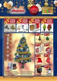 Gazetka promocyjna Majster - Świąteczna oferta w sklepach Majster - ważna do 31-12-2020