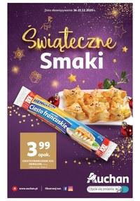 Gazetka promocyjna Auchan Hipermarket - Świąteczne smaki w Auchan! - ważna do 21-12-2020