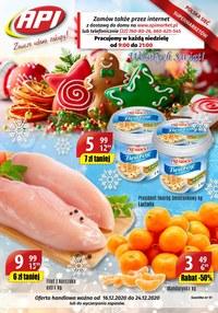 Gazetka promocyjna Api Market - Świeże promocje w Api Market - ważna do 24-12-2020