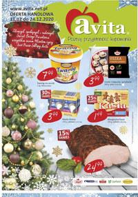 Gazetka promocyjna Avita - Świąteczne okazje w Avita - ważna do 24-12-2020