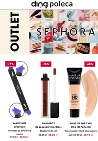 Gazetka promocyjna Sephora - Outlet sieci Sephora! - ważna do 31-12-2020