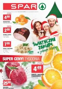Gazetka promocyjna SPAR - Świąteczne zakupy w SPAR - ważna do 24-12-2020