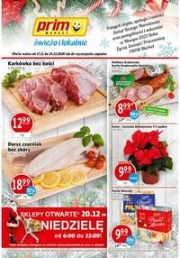 Gazetka promocyjna Prim Market - Świeżo i świątecznie w Prim Market - ważna do 24-12-2020