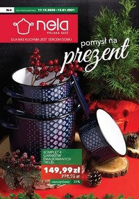 Gazetka promocyjna Nela - Pomysł na prezent z Nela - ważna do 13-01-2021