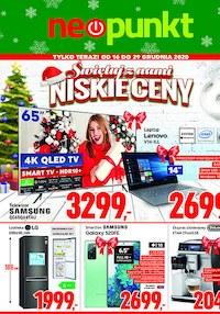 Gazetka promocyjna NEOPUNKT - Świętuj z nami niskie ceny - Neopunkt! - ważna do 29-12-2020