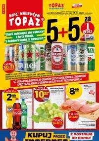 Gazetka promocyjna Topaz - Nowy rok z Topaz! - ważna do 05-01-2021