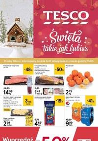 Gazetka promocyjna Tesco Centra Handlowe - Święta takie jak lubisz z Tesco! - ważna do 24-12-2020